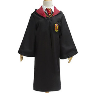 Harry Potter Robe Cloak Cape Cosplay Costume Adult Harry Potter Robe Cloak Gryffindor Slytherin Ravenclaw Robe cloak