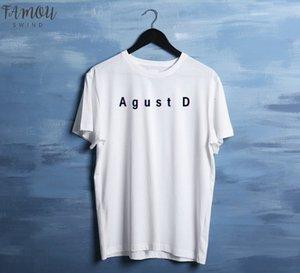 Agust D Suga T Shirt Women Horean Kpop Merch T Shirt Jungkook Jhope Rap Monster Bangtan Boys K Pop T Hirt