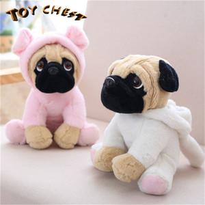 TOY CHEST Brand 2019 Venta caliente Moda Venta al por mayor Cute Animal Plush Toy Cartoon Shar Pei Dog Doll Party Wedding Birthday Present For Boy