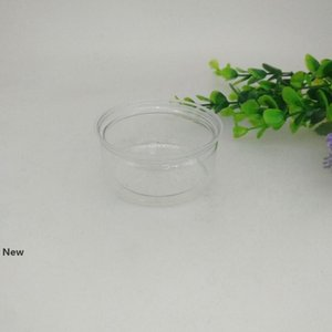 100ML 67*30mm PET Plastic Jar With Metal Lid Container Food Herb Storage Box Food Jars Transparent Food Sealed Bottle Canisters ZZA2284