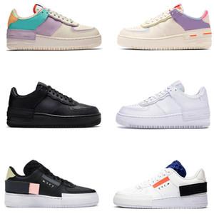 2020 Tipo de alta Hombres Mujeres Zapatos 1 pálida sombra Cumbre blanco marfil voltios Spruce Aura Marina de Mystic para hombre de las zapatillas de deporte de moda entrenador corriendo