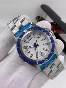 2021 럭셔리 시계 46 자동 남성용 럭셔리 스테인레스 시계 고무 슬리퍼 스트랩 새로운 MM 남성 기계 디자이너 스틸 남성 트리플 NKBQP