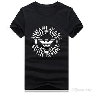 Commercio all'ingrosso plus size di lusso di marca classica girocollo T-shirt manica corta Streetwear Run mens donne ragazzo poloshirt di marca t shirt top tee