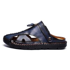 обувь плайя Сандел 2020 Mens sandalias zandalias HEREN sandalsslippers моды Cuero подлинной ERKEK лето transpirables работы де