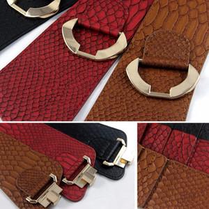 Retro wide belts for Women Loose wide corset belt Rocking Chair Fashion Belt Gold Metal Rivet Buckle Wide Belt For Dress Jacket