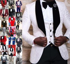 Yeni Tasarım Özel Düğün erkek Blazer Takım Elbise Damat Suit En Erkekler Için Slim Fit Damat Smokin Balo Parti Için