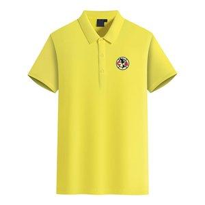 Club America Football Club Logo Herrenmode Golf-Polo-T-Shirt Herren Kurzarm-Polo-T-Shirt
