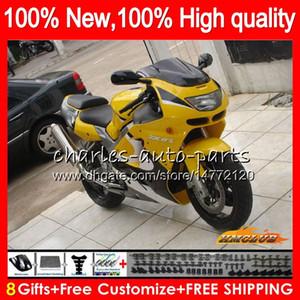 Body for Kawasaki ZX900 900 CC ZX9R 94 95 96 97 47HC.AA ZX 900 9 R 94 97 ZX 9R 900CC الأصفر الأسود ZX-9R 1994 1995 1996 1997