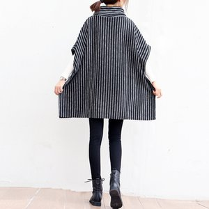 Women's Coat Jacket Maternity Clothing Autumn Winter Plus Size Pregnancy Women Jackets Long Loose Knitting Clothing Women Cloak