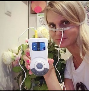 새로운 코 치료는 저주파 레이저 코 막힘 축농증 코골이 치료 장치 마사지 구원 투수 치료 알레르기 비염