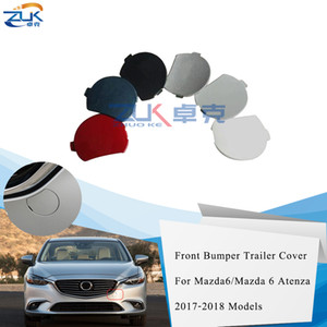 ZUK For Atenza 2017-2019 Front Bumper Towing Hauling Eye Cap Lid Silver Blue Red White Black For Mazda 6