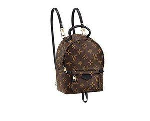 Mini Backpack Bags luxo Classics Canvas Palm Springs ombro das mulheres design do saco Lady Famoso Moda Mochila Meninas da Mochila