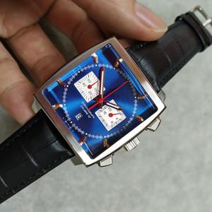 Новые классические роскошные мужские часы кварцевый механизм Калибр 36 RS суппорт модные часы хронограф мужские monaco watch a++ качественные наручные часы