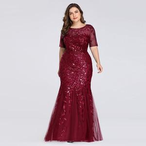 الترتر المرأة 2020 وصول جديدة جميلة من أي وقت مضى بالاضافة الى حجم US4-US22 bridalmaid حورية البحر فساتين لحفل الزفاف، سيدة بوتيك اللباس الرسمي