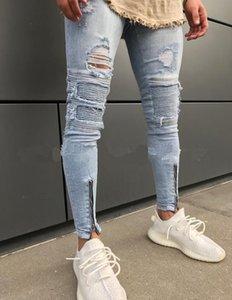 SZ.WENSIDI 04 Qualidade Outono-Inverno Quente Vendas Homens Elegante Jeans Moda Popular longo jeans macho Pants 2020 New Blue Black