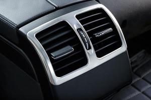 Интерьер автомобиль подлокотник Box Заднего Воздуховод Выход крышка декоративная рамка полоса наклейка для класса Mercedes Benz E Coupe W207 C207 2009-16 Аксессуаров