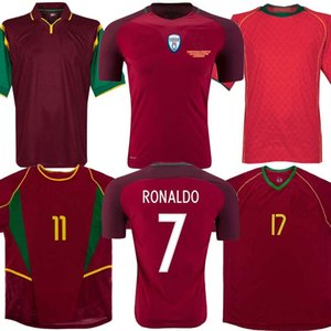 1998 1999 2010 2012 2016 Retro Portogallo maglia da calcio RUI COSTA FIGO RONALDO di calcio camice Camisetas de Fútbol Uniformi formato S-XXL