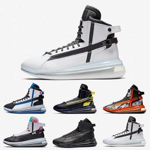 Nike Air Max 720 Saturn shoes Top Qualidade Triplo Preto Vermelho Branco Saturn Destaque Mens tênis de basquete Miami Vice dinâmico Rosa Amarelo Hiper homem loucura Sneakers Sports