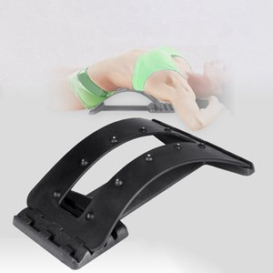 Curved stretching Back Massage Fitness Equipment Stretch Relax Backbone Stretcher Lumbar Support Spine Pain Relief Chiropractic