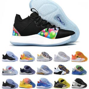 Vente chaude PG 3 Black Mamba Mentality Chaussures 3s Nasa Expédition de haute qualité PG3 Basketball Chaussures de sport Chaussures de sport