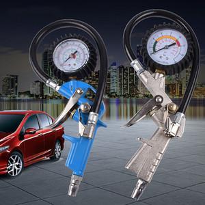 Calibrador rápido neumático neumático de la supervisión del indicador de presión del neumático del coche de la alta precisión que ventea y que infla la boca