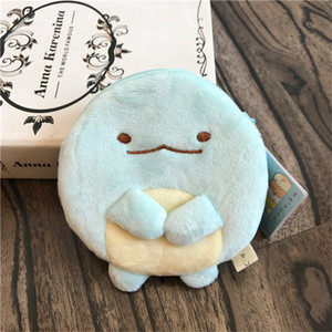 Sumikko Gurashi Cute Plush Purse Cartoon Stuffed Dolls Toys For Children Kids Gift Coin Storage Purse Plush Wallet Hang Pendant