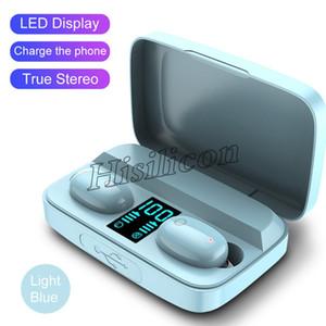Le plus récent 50pcs coloré A10S TWS écouteurs sans fil Bluetooth V5.0 avec écran Power Touch Casque de contrôle