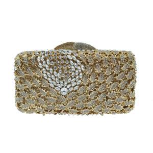 women Luxury Fashion Diamond Evening Bag female Banquet Handle Lady Mini Oblique Cross-body Bags for wedding female clutches