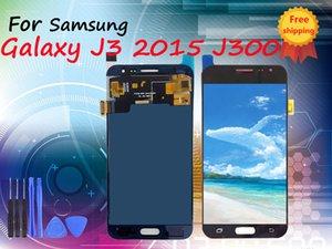 Gute Qualität LCD-Anzeige für Samsung Galaxy J3 2015 J300 J300F J300H Qualität LCD-Anzeigen-Screen-TFT Helligkeit disadjustable