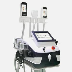 5 In 1 Multifunction Cryolipolysis Slimming Machine 3 Cryo Handles 40K Cavitation Rf 360° Criolipolisis Mini Fat Freeze Handle