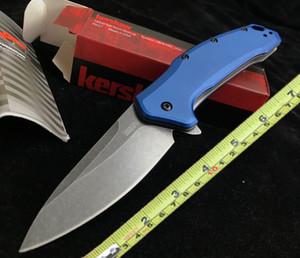 Kershaw 1776 помощь на открытом воздухе многофункциональный кемпинг выживание складной нож Алюминиевая ручка прикольных складной нож Browning инструмент