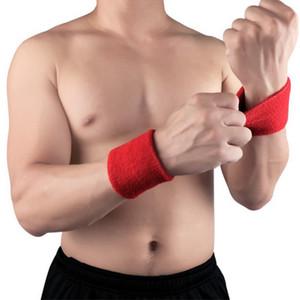 Männer Frauen Armbänder Sport Schweißband Hand Band Sweat Handgelenk Unterstützung Brace Wraps schützt für Gym Volleyball Basketball Fest
