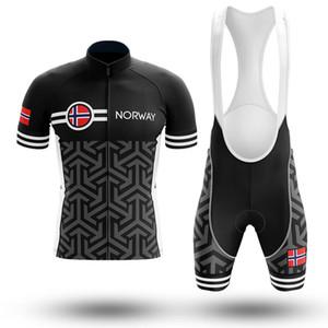 Nouvelle Norvège Vélo Jersey personnalisé Route Montagne Course Top max tempête Vélo Vêtements À Séchage Rapide Respirant Vélo Ensembles
