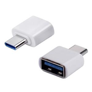 Adaptateur OTG Type C USB 3.0 Adaptateur Type-C Mâle à femelle USB OTG pour App 5s et 4C Samsung S8 Nexus 6P