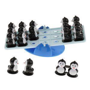 Kids Developmental Intelligence Board Game Penguin Teeterboard Toy Educational Playset Birthday Gift