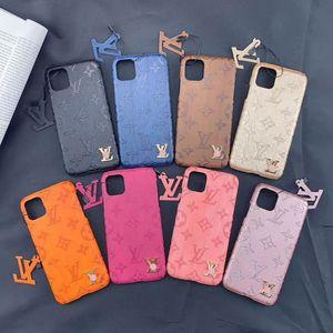 iPhone 11 11Pro Max Xs Max Xr 7 7Plus 8 8plus Kılıf Deri Lüks Telefon Kılıfı İyi Kalitesi İçin Tasarımcı Telefon Kılıfları