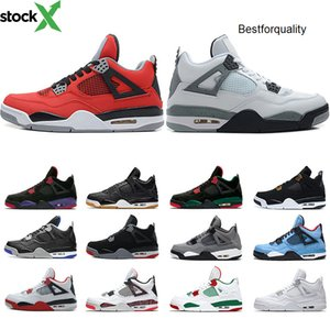 4 Top Cool Grey 4s Men jordon basketball Shoes Og Bred For 2020 Tattoo Singles Day Mens Designer Trainer Athletic Sport Sneakers de Mujer-Spanish SheIn(Sheinside