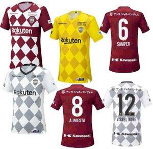 2020 Japan VISSEL soccer jersey DAVID VILLA A.INIESTA football shirts PODOLSKI SAMPER uniform adult camiseta de A.INIESTA 20 21