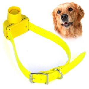 New Gelb Farbe Jagdhundehalsband Piepser Hundetrainings-Kragen wasserdicht für Small Medium Large Hunde