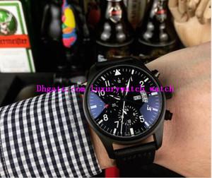 Nouvelle version 4 Style Montre de luxe de luxe 41mm Chronographe de chronographe Top Top Top 378901 Sangle de cuir Quartz Mens Hommes Montres