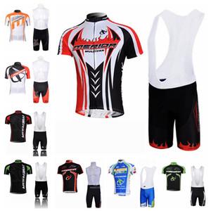 MERIDA 팀 사이클링 반팔 유니폼 턱받이 반바지 여름 통풍 남성 짧은 소매 턱받이 반바지 스포츠 유니폼 세트 S71316