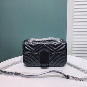 Marmota crossbody shoulderbags cadena caliente de la venta bolsos bolsos de las mujeres bolsos clásicos de buena calidad bolsa de cuero de la PU