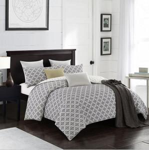 Mode Bettwäsche-Sets Bettwäsche Simple Style Bettbezug Flachbettlaken Bettwäscheset Winter Full King Single Queen, Bettgarnitur 2019