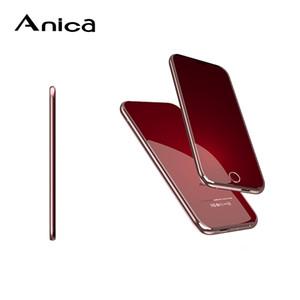 Original ANICA T8 Mini-Handy Art und Weise ultradünne Students Touch Control Handys Karte Bluetooth Telefono Moviles internationale GSM