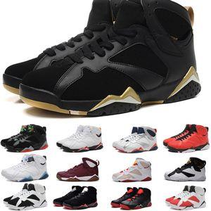 2020 nouvelle 7 J7 véritable vol bleu français VII chaussures de basket-ball hommes chaussure de sport Hot vente de chaussures de baskets de MID classique pour les hommes
