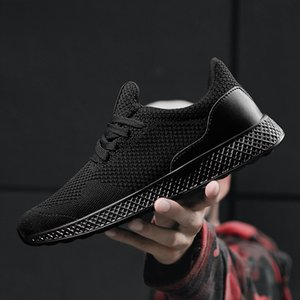 Grande taille 48 Sneakers Hommes Fly ROEGRE Weave Chaussures Hommes Casual Outdoor Walking Tenis Chaussures de sport légère respirante Chaussures Homme
