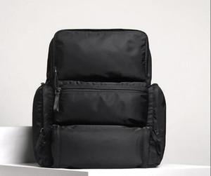 2019 Горячие продавать Мужскую рюкзак нейлон Сделана Backpacks дизайнерского бренда школа Книги сумка высокого качество натуральной кожи Большого размер мешок школа 33 * 40 * 18см