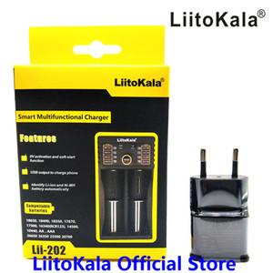 Liitokala LII-LII-500 202 402 LII-LII-LII-PD2 PD4 1.2V 3.7V 3.2V AA / AAA 18,650 18,350 26,650 니켈 수소, 리튬 배터리 충전기 스마트