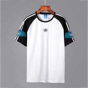 Mens Designer T-Shirts Fashion Mens Womens Summer Tshirts Sport Brand Short Sleeves T-shirts Spring Panelled Streetwears Top Tees 2050502V