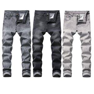 New Men's Jeans Cross Border Men's Wear Stretch Fashion Trim Cotton Jeans 3 Colors 28-42 Yards